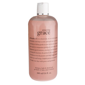 Philosophy Amazing Grace Shampoo, Bath & Shower Gel, 480ml/16oz