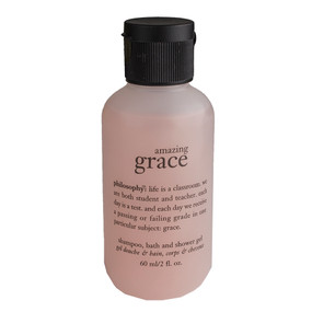 Philosophy Amazing Grace Shampoo, Bath & Shower Gel, Travel Size 60ml/2oz