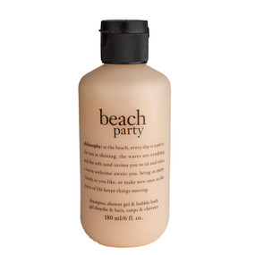 Philosophy Beach Party Shampoo, Shower Gel & Bubble Bath, 180ml/6oz