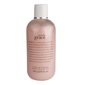 Philosophy Amazing Grace Shampoo, Bath & Shower Gel, 240ml/8oz