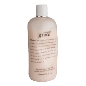 Philosophy Amazing Grace Perfumed Olive Oil Body Scrub, 480ml/16oz