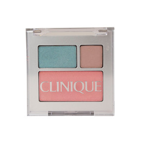 Clinique All About Shadow Duo & Blushing Blush, AG Nude Rose/11 Galaxy & 10 Precious Posey, Travel Size
