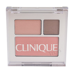 Clinique All About Shadow Duo & Blushing Blush, E0 Chocolate Dark/16 Day into Date & 01 New Clover, Travel Size