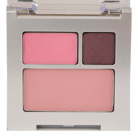 Clinique All About Shadow Duo & Blushing Blush, AX Chocolate Covered Cherry/2W Blushed & 08 Cupid, Travel Size