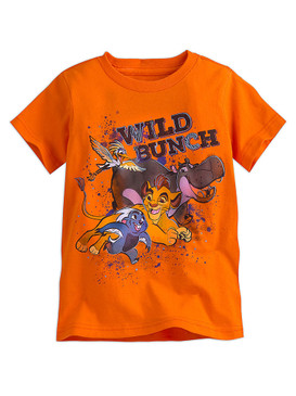 "Disney Store Boys Kion/Bunga/Beshte & Ono -The Lion Guard- ""Wild Bunch"" T-Shirt"