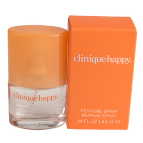 Clinique Happy Perfume Spray, Travel Size 0.14oz/4ml