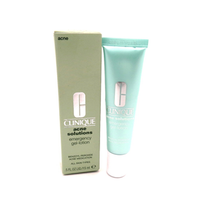 Clinique Acne Solutions Emergency Gel-Lotion All Skin Types .5 fl oz/ 15 ml