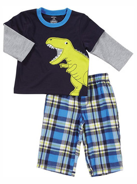 Carter's Baby Boys Dinosaur 2-Piece Pajama Set