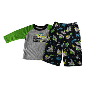 "Carter's Baby Boys ""Far Beyond Awesome"" 2-Piece Long Sleeve Pajama Set"