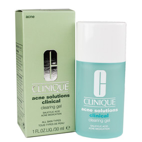 Clinique Acne Solutions Clinical Clearing Gel All Skin Types 1oz/30ml