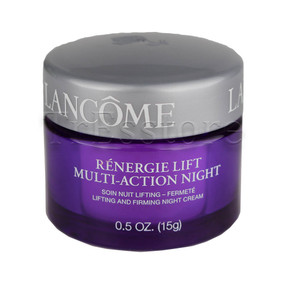 Lancome Renergie Lift Multi-Action Night Lifting & Firming Cream, Travel Size 0.5oz/15g