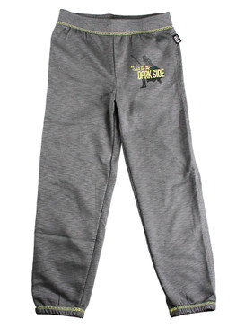 "Disney Store Boys Darth Vader ""Turn to the Dark Side"" Sweatpants, Gray"