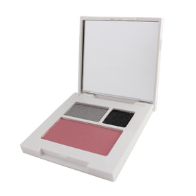Clinique All About Shadow Duo & Blushing Blush - 09 Smoke & Mirrors, 21 Silverlining, 08 Cupid, Travel Size