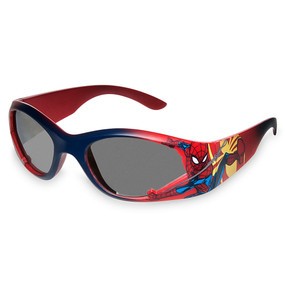Disney Store Boys Spider-Man Gradient Sunglasses, Red/Blue, One Size