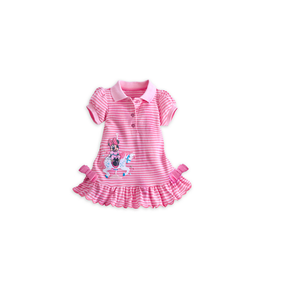 Disney Store Baby Girls Minnie Mouse Pique of perfection Knit Dress, Pink
