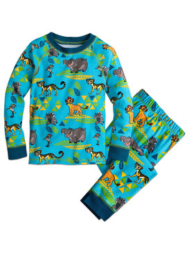 Disney Store Boys Kion/Fuli/Bunga/Ono &  Basi - The Lion Guard - Pajama Set