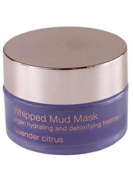 Josie Maran Whipped Mud Mask Argan Hydrating and Detoxifying Treatment  - Lavender Citrus, 15g/.5oz Unboxed
