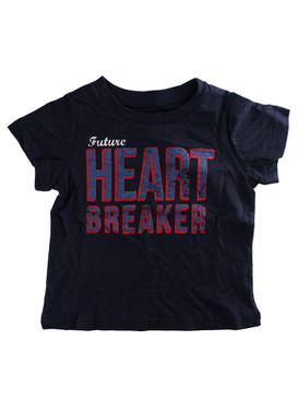 First Impressions Baby Boys ''Future Heart Breaker'' Blue T-Shirt