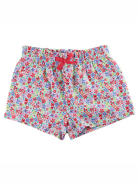 First Impressions Baby Girls Ruffle-Waist Floral Short