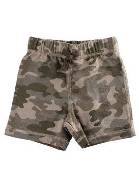 First Impressions Baby Boys Dusty Will Camo-Print Short