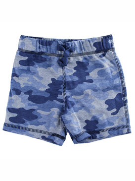 First Impressions Baby Boys Blue Camo-Print Shorts