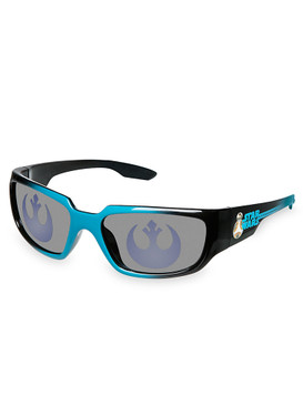 Disney Store Boys R2-D2 & BB-8 Star Wars Sunglasses, Blue & Black