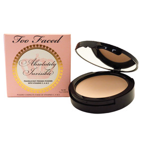 Too Faced Absolutely Invisible Translucent Pressed Powder, .32oz/9g