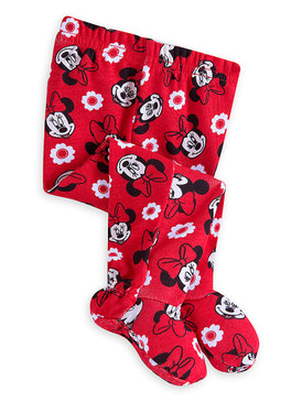 Disney Store Baby Girls Minnie Mouse PJ Pals Pajama Set, Red/White