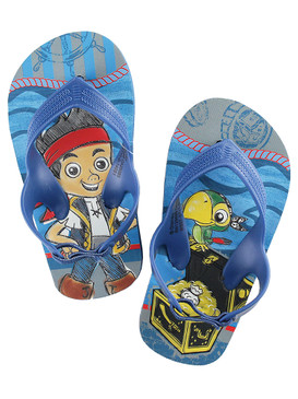 Disney Store Boys Jake & Skully - Jake and the Never Land Pirates - Flip Flops