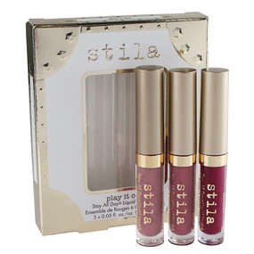 Stila Stay All Day Liquid Lipstick Set - Play It Cool - 0.05oz/1.5ml each