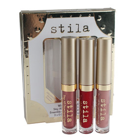 Stila Stay All Day Liquid Lipstick Set - Warm & Fuzzy - 0.05oz/1.5ml each