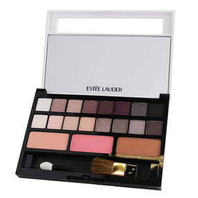 Estee Lauder Pure Color Envy Sculpting 16 Eye Shadows & 3 Blushes Palette - Smoky Noir -  Unboxed