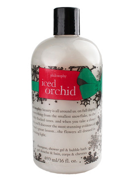 Philosophy Iced Orchid Shampoo, Shower Gel & Bubble Bath, 480ml/16oz