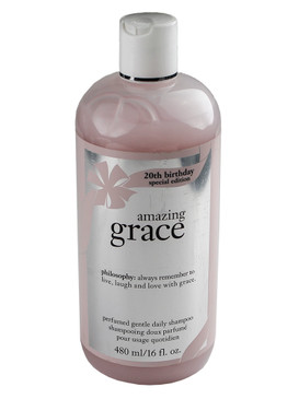 Philosophy Amazing Grace 20th Birthday Special Edition Perfumed Gentle Daily Shampoo 480ml/16oz