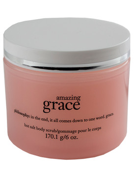 Philosophy Amazing Grace Hot Salt Body Scrub, 170.1g/6oz