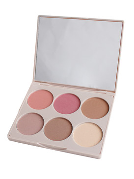 Doll 10 Cheek to Chic Blush and Contour Palette - Unboxed