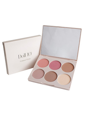 Doll 10 Cheek to Chic Blush and Contour Palette