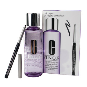 Clinique Bold Eyes Set, Quickliner for eyes Intense & Take the Day Off