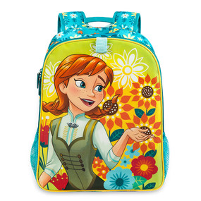 "Disney Store Anna and Elsa - Frozen ""Double the Fun"" Reversible Backpack"