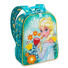 """Disney Store Anna and Elsa - Frozen """"Double the Fun"""" Reversible Backpack"""