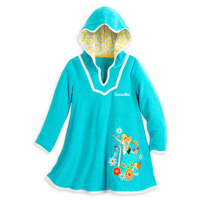 "Disney Store Anna and Elsa - Frozen ""Dry Ice"" Cover-Up for Girls"