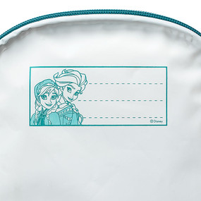 "Disney Store Anna and Elsa - Frozen ""Cold Storage"" Lunch Tote Bag for Girls"