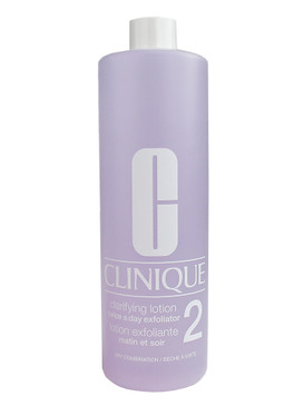 Clinique Clarifying Lotion 2, Dry Combination Skin, w/Pump Jumbo Size 16.5oz/487ml