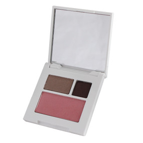Clinique + Jonathan Adler All About Shadow Duo Eyeshadow & Powder Blusher Palette - 03 Morning Java, 1C Foxier, 08 Cupid