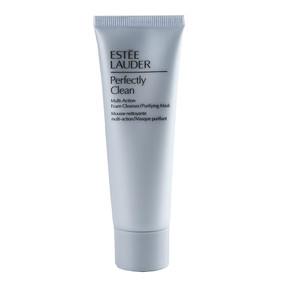 Estee Lauder Perfectly Clean Multi-Action Foam Cleanser/Purifying Mask - Travel Size 1.7oz/50ml