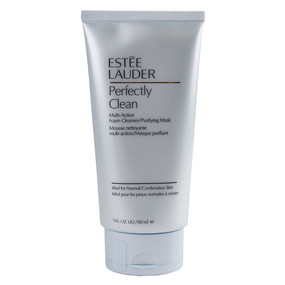 Estee Lauder Perfectly Clean Multi-Action Foam Cleanser/Purifying Mask - 5oz/150ml