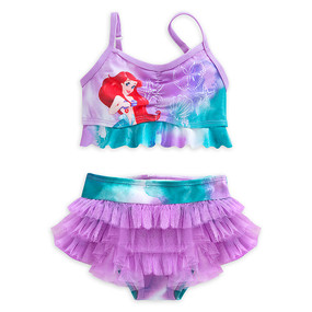 "Disney Store Ariel - The Little Mermaid ""High Diva"" 2-Piece Swimsuit for Girls"