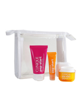 Clinique Pep-start set: Pep it up - Cleanser, Moisturizer & Eye Cream