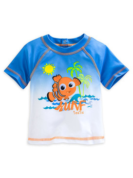 Disney Store Baby Boys Nemo - Finding Nemo - ''Surf-tastic'' Rash Guard