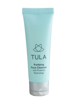 Tula Purifying Cleanser w/Probiotic Technology, Travel Size 1oz/30ml
